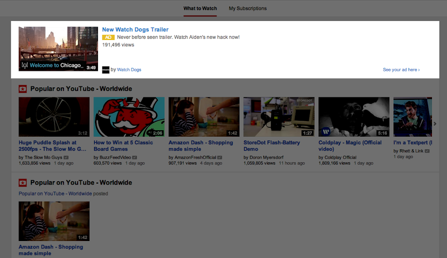 youtube-in-display-homepage-ads